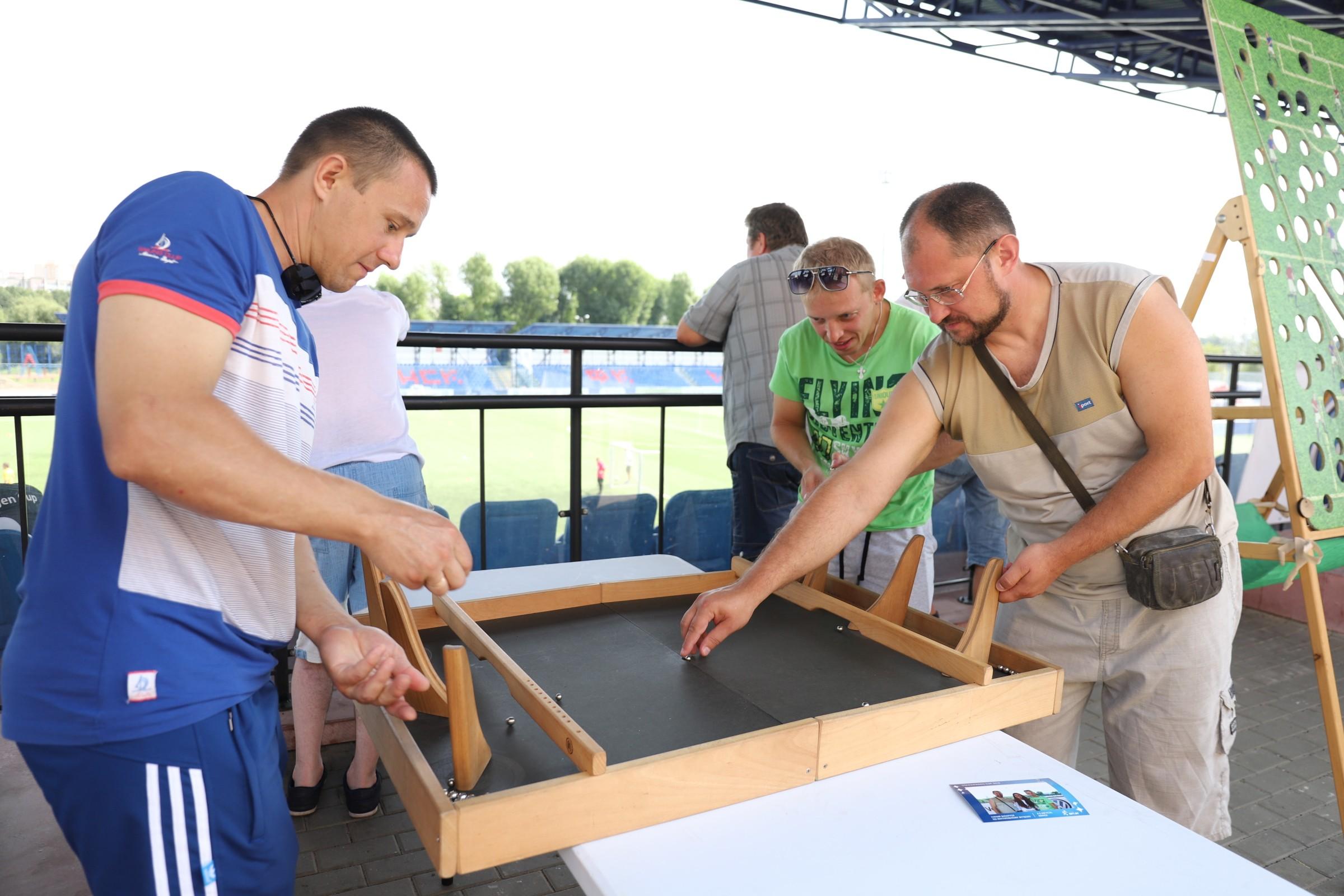Volkswagen Cup: игровая зона турнира