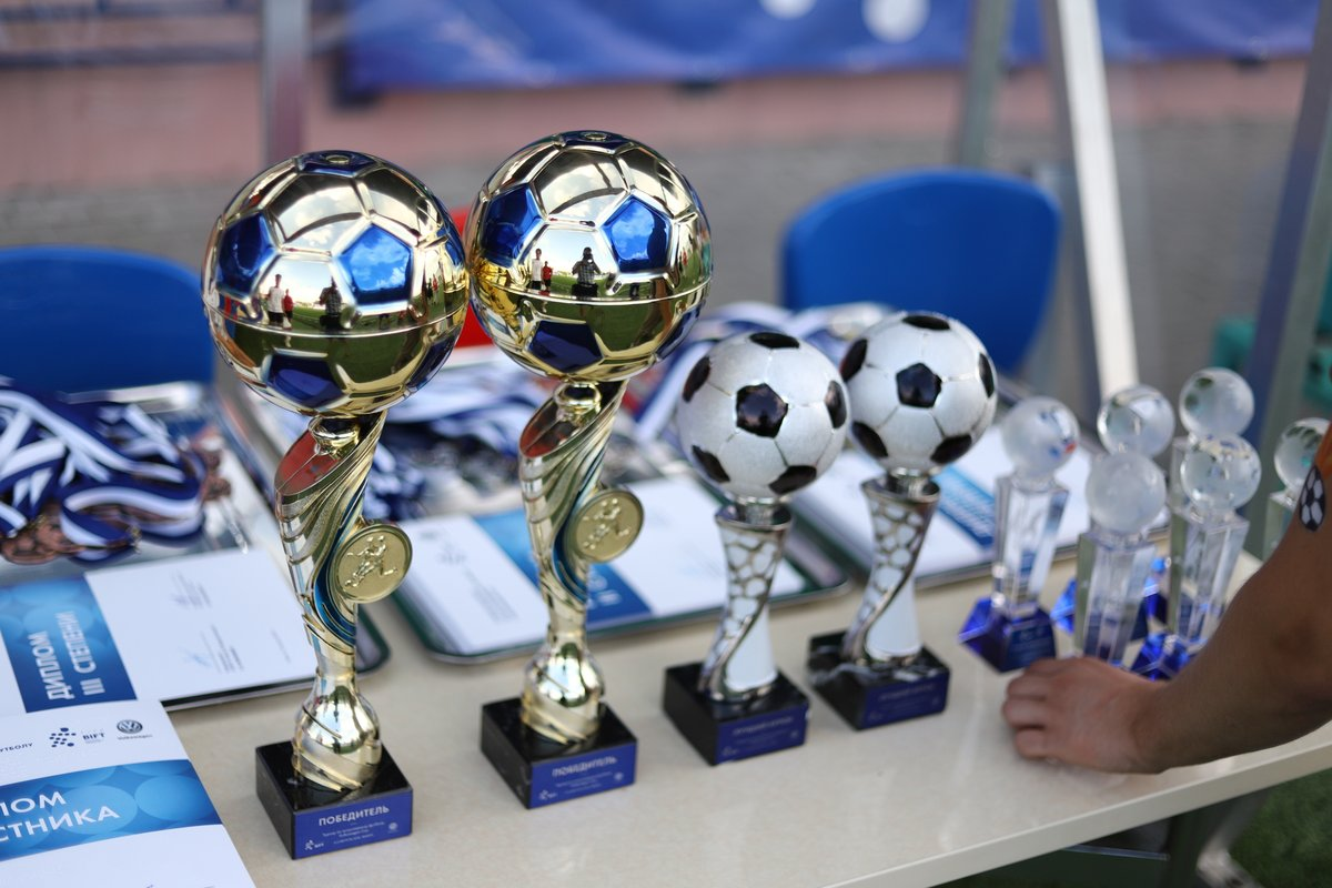 Победители турнира Volkswagen Cup!